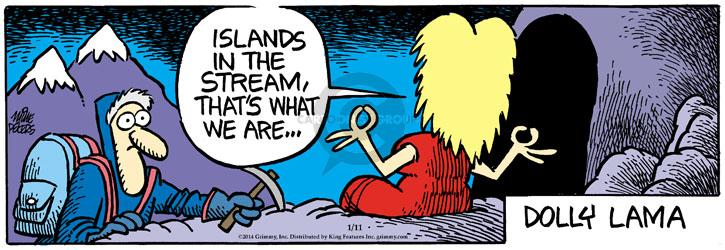 Comic Strip Mike Peters  Mother Goose and Grimm 2014-01-11 singer