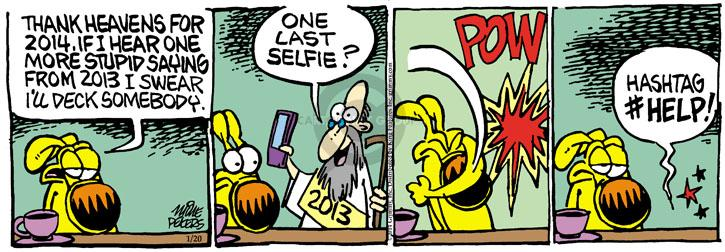 Comic Strip Mike Peters  Mother Goose and Grimm 2014-01-20 online