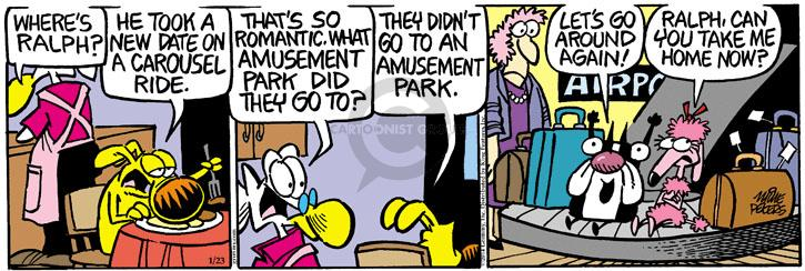 Comic Strip Mike Peters  Mother Goose and Grimm 2014-01-23 airport