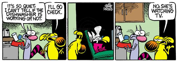 Comic Strip Mike Peters  Mother Goose and Grimm 2014-01-27 appliance