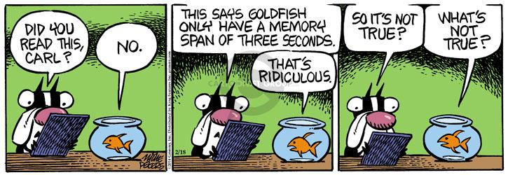Comic Strip Mike Peters  Mother Goose and Grimm 2014-02-18 fish