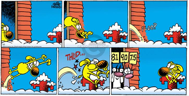 Comic Strip Mike Peters  Mother Goose and Grimm 2014-03-09 Olympics