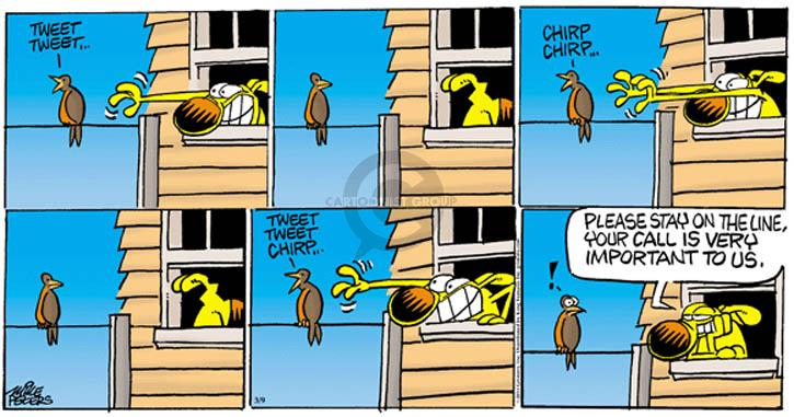 Comic Strip Mike Peters  Mother Goose and Grimm 2014-03-09 important message