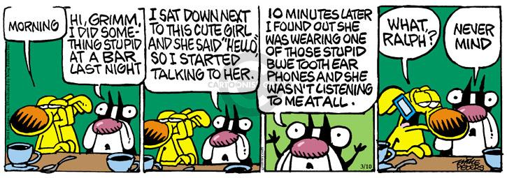 Comic Strip Mike Peters  Mother Goose and Grimm 2014-03-10 listen