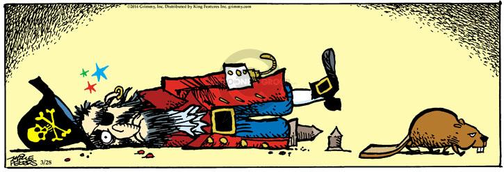 Comic Strip Mike Peters  Mother Goose and Grimm 2014-03-28 pirate