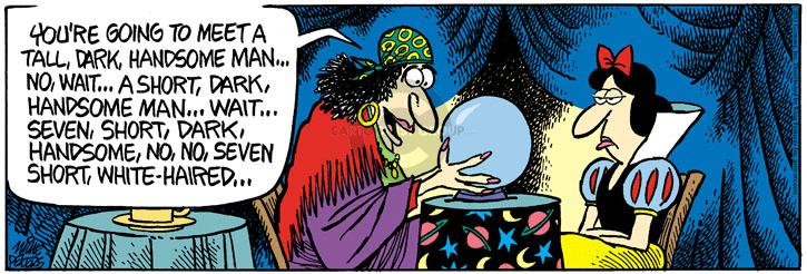 Cartoonist Mike Peters  Mother Goose and Grimm 2014-04-01 white