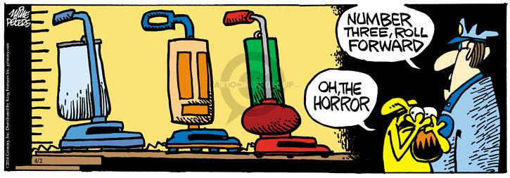 Comic Strip Mike Peters  Mother Goose and Grimm 2014-04-02 number