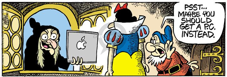 Comic Strip Mike Peters  Mother Goose and Grimm 2014-04-10 electronics