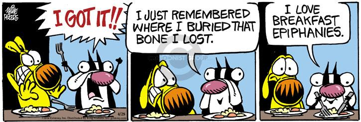 Comic Strip Mike Peters  Mother Goose and Grimm 2014-04-28 bone