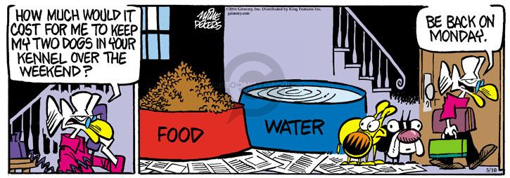 Comic Strip Mike Peters  Mother Goose and Grimm 2014-05-10 water
