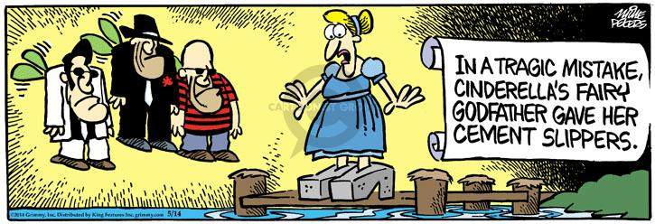 Cartoonist Mike Peters  Mother Goose and Grimm 2014-05-14 story