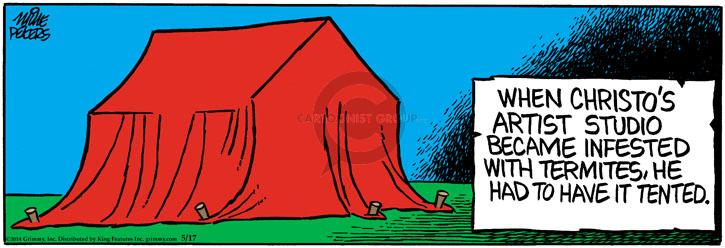 Comic Strip Mike Peters  Mother Goose and Grimm 2014-05-17 become