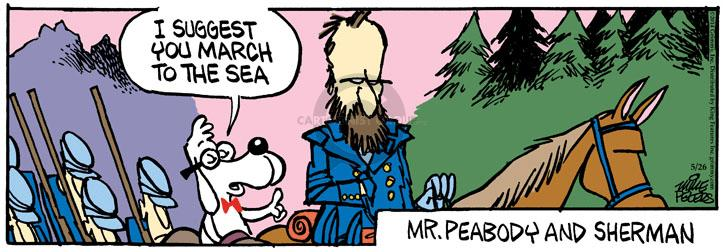 Comic Strip Mike Peters  Mother Goose and Grimm 2014-05-26 sea