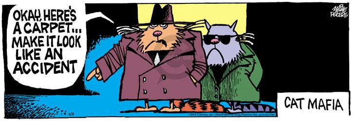 Comic Strip Mike Peters  Mother Goose and Grimm 2014-06-09 mafioso