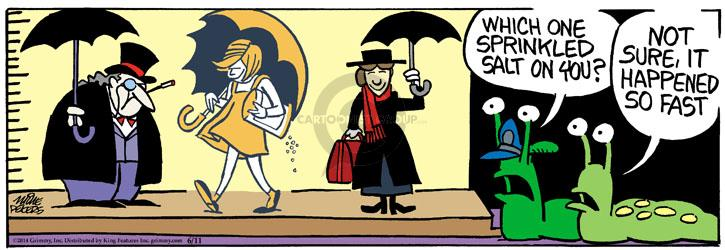 Comic Strip Mike Peters  Mother Goose and Grimm 2014-06-11 crime