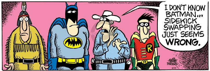 Comic Strip Mike Peters  Mother Goose and Grimm 2014-06-12 wrong