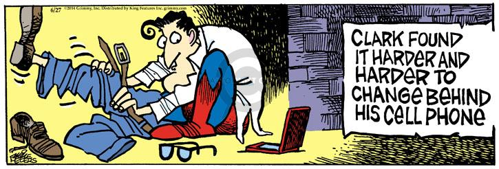 Comic Strip Mike Peters  Mother Goose and Grimm 2014-06-27 Superman