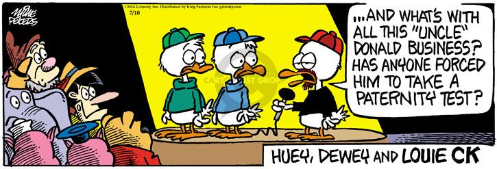 Comic Strip Mike Peters  Mother Goose and Grimm 2014-07-10 business