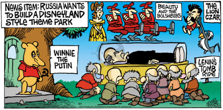 Comic Strip Mike Peters  Mother Goose and Grimm 2014-08-03 lion