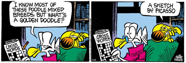 Comic Strip Mike Peters  Mother Goose and Grimm 2014-08-20 valuable