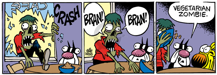 Comic Strip Mike Peters  Mother Goose and Grimm 2014-09-15 food ingredient