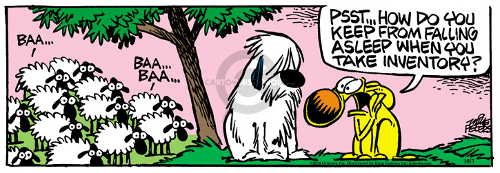 Comic Strip Mike Peters  Mother Goose and Grimm 2014-10-03 asleep