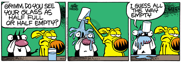 Comic Strip Mike Peters  Mother Goose and Grimm 2014-10-21 half