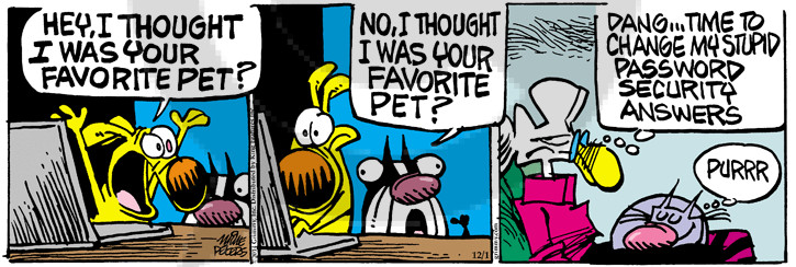 Comic Strip Mike Peters  Mother Goose and Grimm 2014-12-01 owner