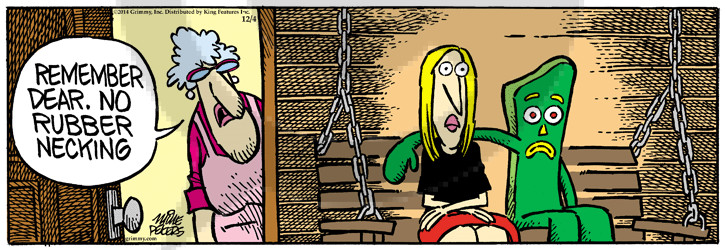 Comic Strip Mike Peters  Mother Goose and Grimm 2014-12-04 make