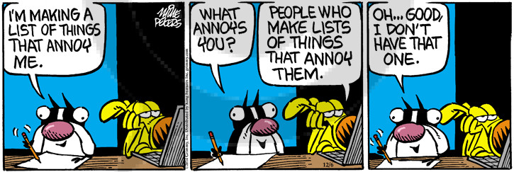 Comic Strip Mike Peters  Mother Goose and Grimm 2014-12-06 pet