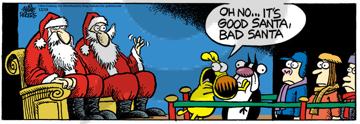 Comic Strip Mike Peters  Mother Goose and Grimm 2014-12-18 lap