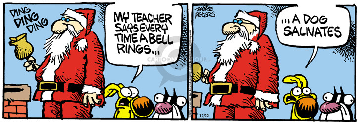 Comic Strip Mike Peters  Mother Goose and Grimm 2014-12-22 teacher