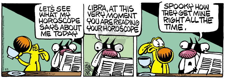Comic Strip Mike Peters  Mother Goose and Grimm 2015-01-05 prediction