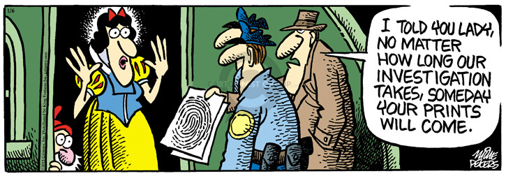 Cartoonist Mike Peters  Mother Goose and Grimm 2015-01-06 tale