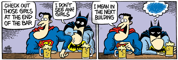 Comic Strip Mike Peters  Mother Goose and Grimm 2015-01-15 superpower