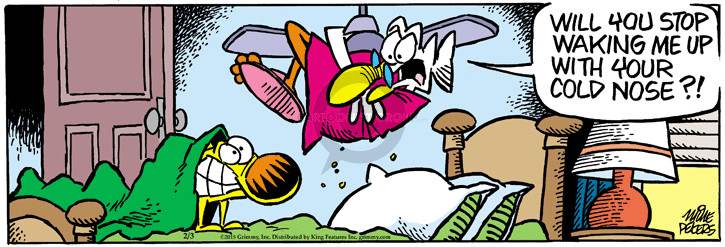 Comic Strip Mike Peters  Mother Goose and Grimm 2015-02-03 canine