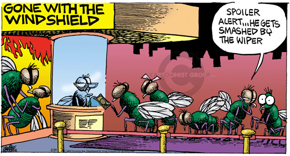Cartoonist Mike Peters  Mother Goose and Grimm 2015-03-01 wind