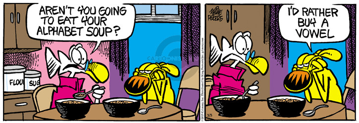 Comic Strip Mike Peters  Mother Goose and Grimm 2015-03-05 aren't