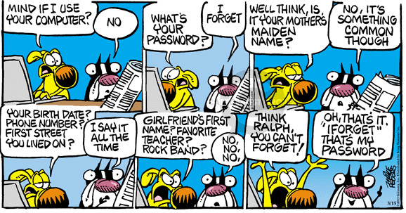 Comic Strip Mike Peters  Mother Goose and Grimm 2015-03-15 number