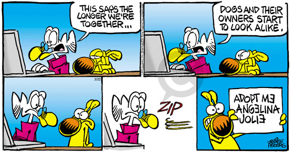 Comic Strip Mike Peters  Mother Goose and Grimm 2015-03-22 owner
