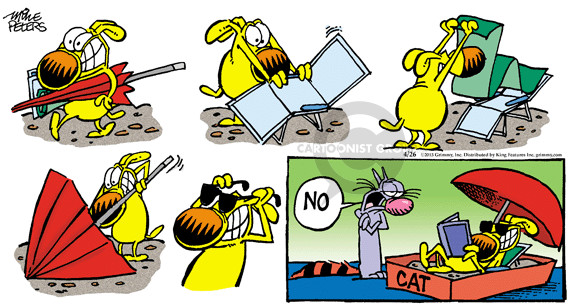 Comic Strip Mike Peters  Mother Goose and Grimm 2015-04-26 sand