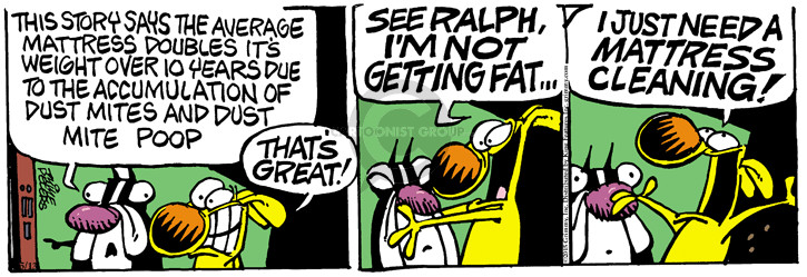 Comic Strip Mike Peters  Mother Goose and Grimm 2015-05-20 weight