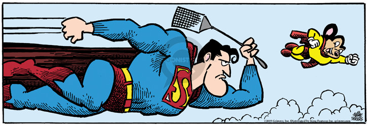Comic Strip Mike Peters  Mother Goose and Grimm 2015-05-29 Superman