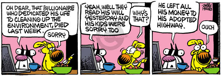 Cartoonist Mike Peters  Mother Goose and Grimm 2015-06-02 high