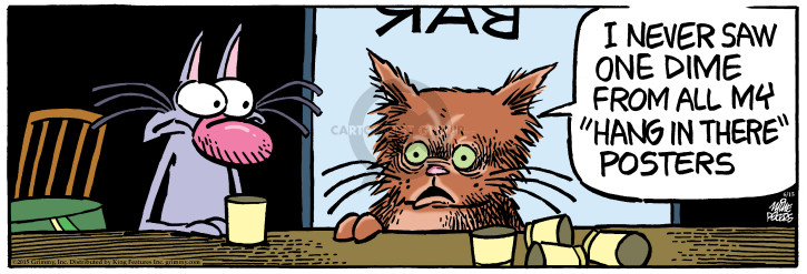 Cartoonist Mike Peters  Mother Goose and Grimm 2015-06-15 compensation