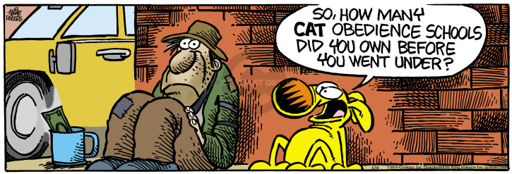 Comic Strip Mike Peters  Mother Goose and Grimm 2015-06-18 business