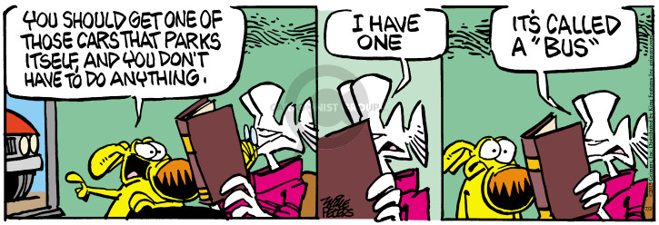 Comic Strip Mike Peters  Mother Goose and Grimm 2015-07-02 public