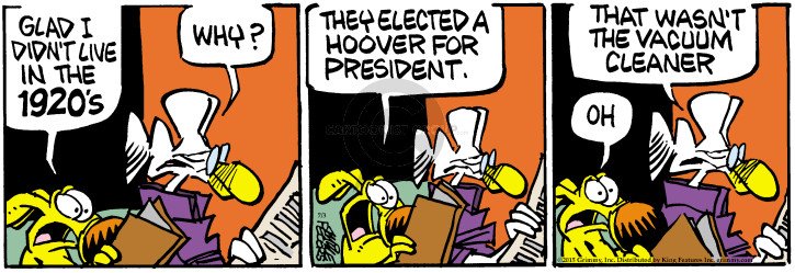 Comic Strip Mike Peters  Mother Goose and Grimm 2015-07-03 president