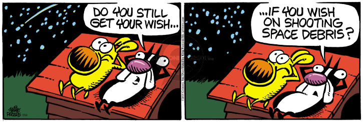 Comic Strip Mike Peters  Mother Goose and Grimm 2015-07-22 star