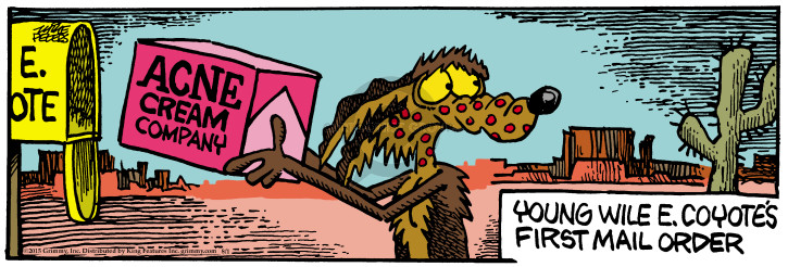 Comic Strip Mike Peters  Mother Goose and Grimm 2015-08-01 disorder